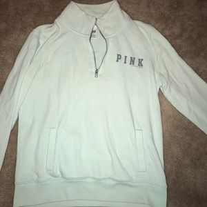 VS Pink 1/2 Zip Pullover